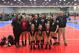 Borderline 14 Hawks: 3rd Place Copper, OVR 2016 Girls' Volleyball Championships, May 1, 2016